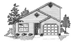 Traditional Style House Plans Plan: 71-137