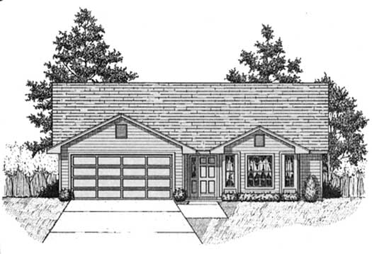 Traditional Style House Plans Plan: 71-143
