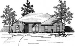 Traditional Style Floor Plans Plan: 71-163