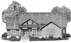 Traditional Style House Plans Plan: 71-221