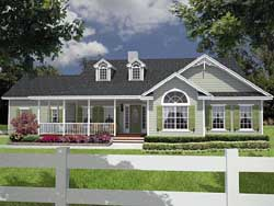 Country Style House Plans Plan: 71-229