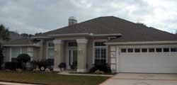 Sunbelt Style Home Design Plan: 71-339