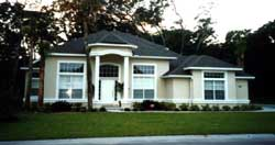 Sunbelt Style House Plans Plan: 71-364