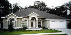 Sunbelt Style Floor Plans Plan: 71-374