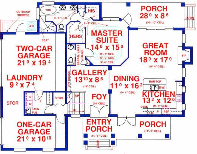 Main Floor Plan: 71-414