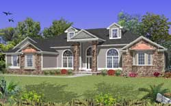 Traditional Style Floor Plans 71-417