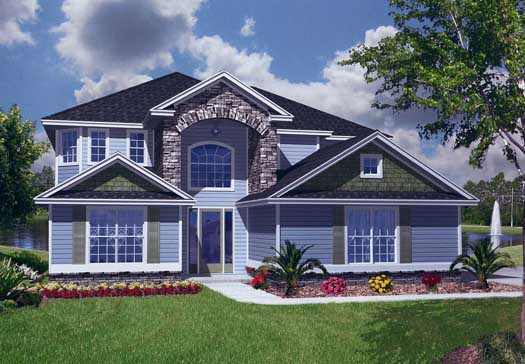 Traditional Style House Plans Plan: 71-423