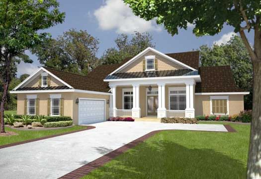 Southern Style House Plans Plan: 71-436