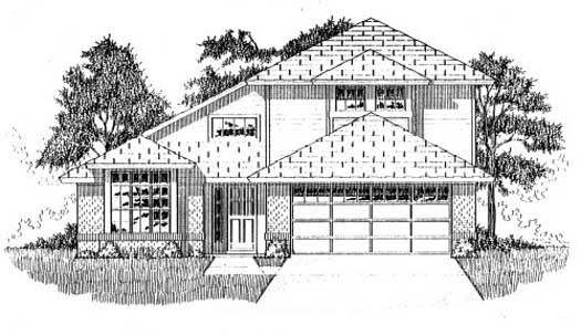 Traditional Style House Plans Plan: 71-517