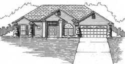 Traditional Style House Plans Plan: 71-519