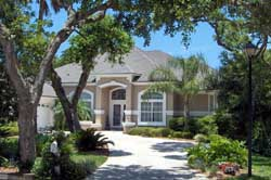Florida Style House Plans Plan: 71-520