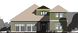 Traditional Style House Plans Plan: 72-104