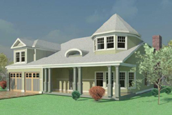 Country Style Floor Plans Plan: 72-105