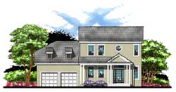 Traditional Style House Plans Plan: 73-165
