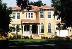 Florida Style Floor Plans Plan: 73-198