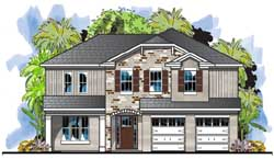 Traditional Style House Plans 73-220