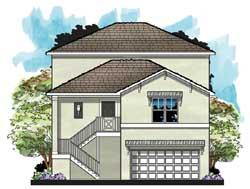 Coastal Style House Plans Plan: 73-226