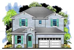 Traditional Style Floor Plans Plan: 73-233