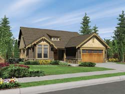 Craftsman Style House Plans Plan: 74-103