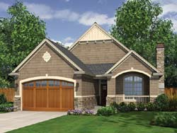 Craftsman Style Floor Plans Plan: 74-109