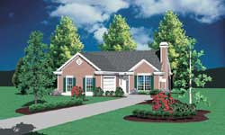 Traditional Style Floor Plans Plan: 74-110