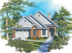 Traditional Style House Plans Plan: 74-113