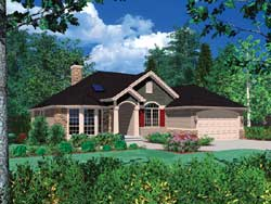 Traditional Style Floor Plans Plan: 74-115
