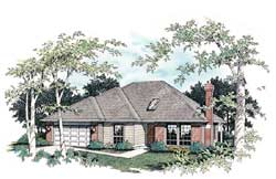 Traditional Style House Plans Plan: 74-116