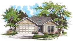 Craftsman Style Floor Plans Plan: 74-118