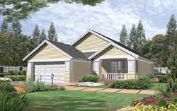 Craftsman Style House Plans Plan: 74-121