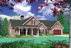 Craftsman Style Floor Plans Plan: 74-133