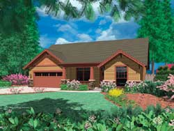 Craftsman Style Floor Plans Plan: 74-139