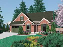 Traditional Style House Plans Plan: 74-140