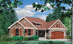 Cottage Style House Plans 74-141