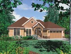 Craftsman Style Floor Plans Plan: 74-142