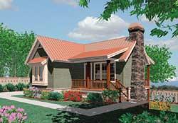 Craftsman Style Floor Plans Plan: 74-146