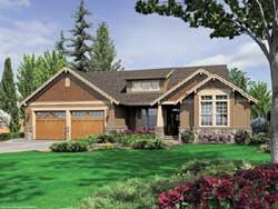Craftsman Style House Plans Plan: 74-162