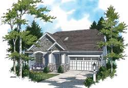 Craftsman Style House Plans Plan: 74-173