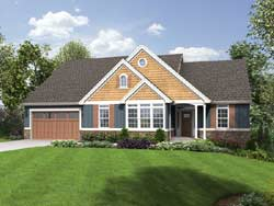 Cape-Cod Style House Plans Plan: 74-183