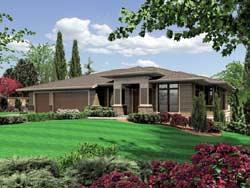 Prairie Style House Plans Plan: 74-216