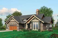 Craftsman Style House Plans Plan: 74-221