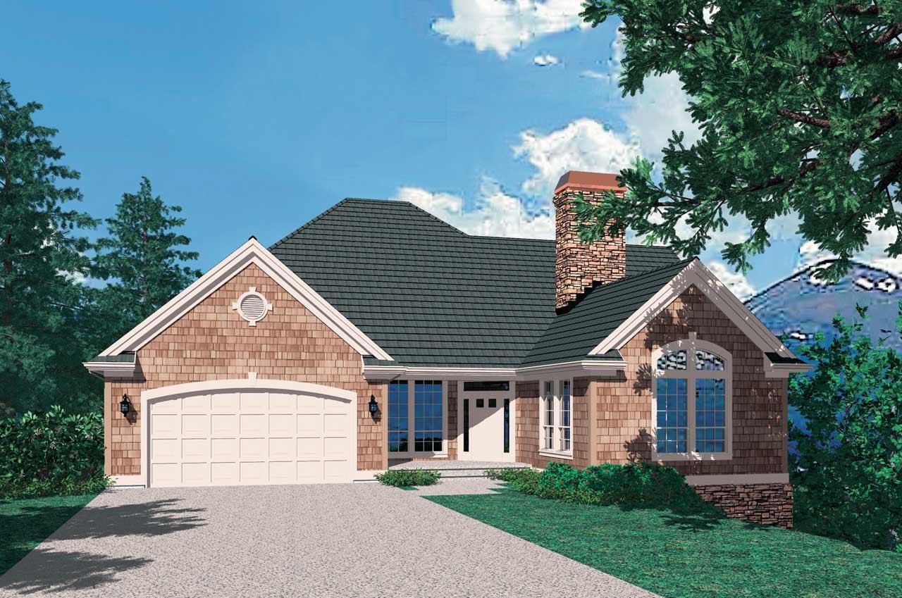 Craftsman Style House Plans Plan: 74-228