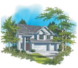 Traditional Style House Plans Plan: 74-244