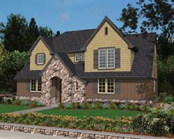 Country Style Floor Plans Plan: 74-253