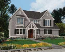 Craftsman Style Floor Plans Plan: 74-254