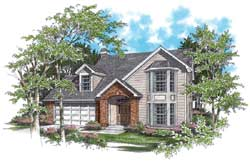 Traditional Style House Plans Plan: 74-255