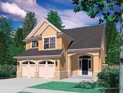 Craftsman Style House Plans Plan: 74-263