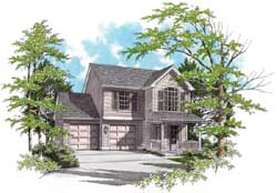 Traditional Style Floor Plans Plan: 74-266