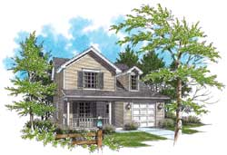 Country Style House Plans Plan: 74-269