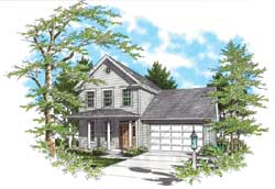 Traditional Style House Plans Plan: 74-272